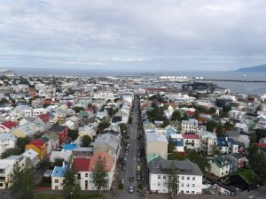 Reykjavik after holiday