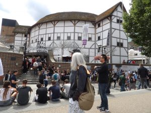 Shakespeare Globe prior to Taming of the Shrew