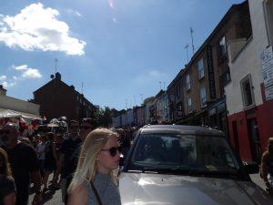 Wanting to escape from Notting Hill Portobello Market