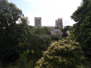 York Minster from the wall