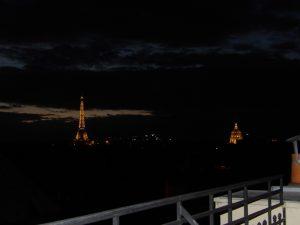 Paris at night - Eiffel Tower