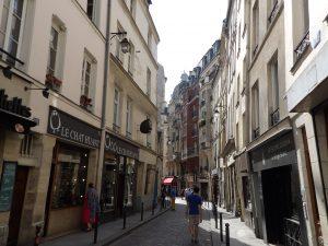 oldest street in Paris - in the Latin Quarter