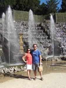 dancing water at Versailles