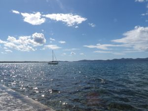 what a view, from our place near Zadar