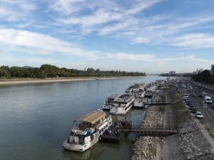 the peaceful Danube