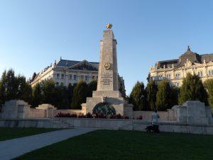 Communist monument to Soviet troops