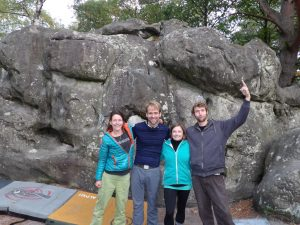 bouldering with some great friends!