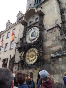 The Astronomical Clock - probably the most famous site in Prague