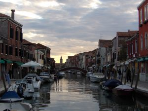 Murano Island, famous for glass blowing
