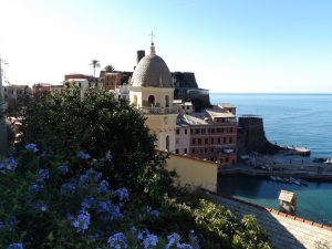 our view upon arriving at Vernazza