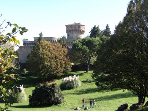 Medici castle in the beautiful town of Volterra