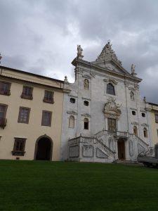 exterior of Carthusian monastery