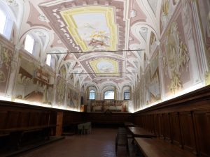 amazing interior - this is the dining hall of the monestery