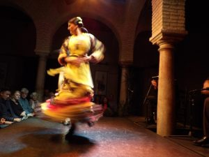 amazing flamenco dancer