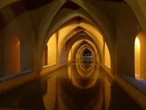 the baths of Alcazar